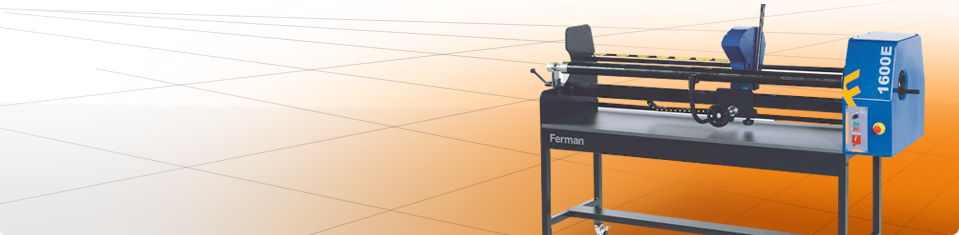 Laminating and cutting machines Ferman; laminator for traffic signs, for signwriters, for glaziers, manual  laminators and cold laminators.  Cutting machine to cut rolls of vinyl, reflective sheet, canvas, application tape, textile.